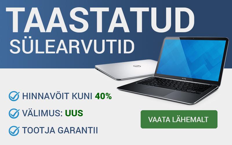ad2c373ef06 Kasutatud sülearvutid: Osta parima hinnaga Eestis — datagate.ee